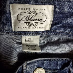 White House Black Market jeans 4r